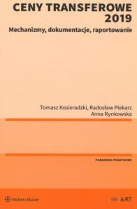 Dokumentacja cen transferowych okładka książki